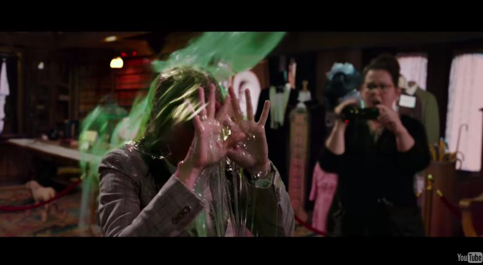 """Los cazafantasmas es el tráiler de película con mas """"dislike"""" de la historia. (Foto: Captura de YouTube)"""