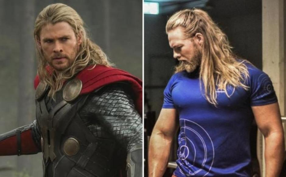 Lasse L. Matberg ha sorprendido a usuarios de Instagram por su parecido con el personaje de Thor. (Foto: The Telegraph)
