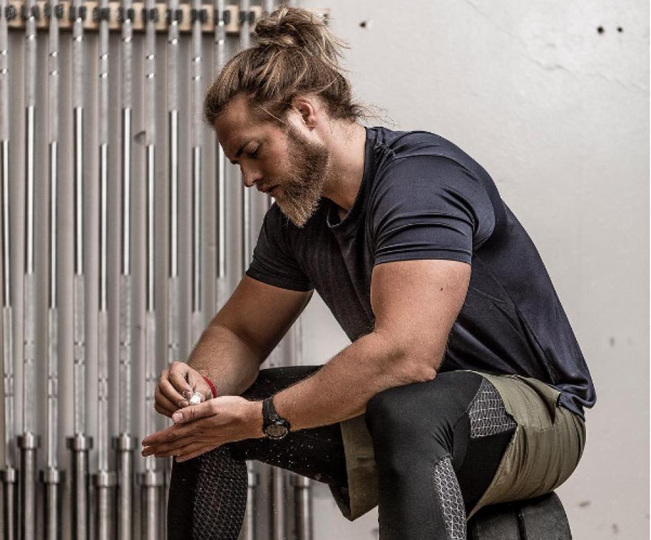 Matberg demuestra en su cuenta cómo dedica tiempo al ejercicio. (Foto: Instagram/lasselom)