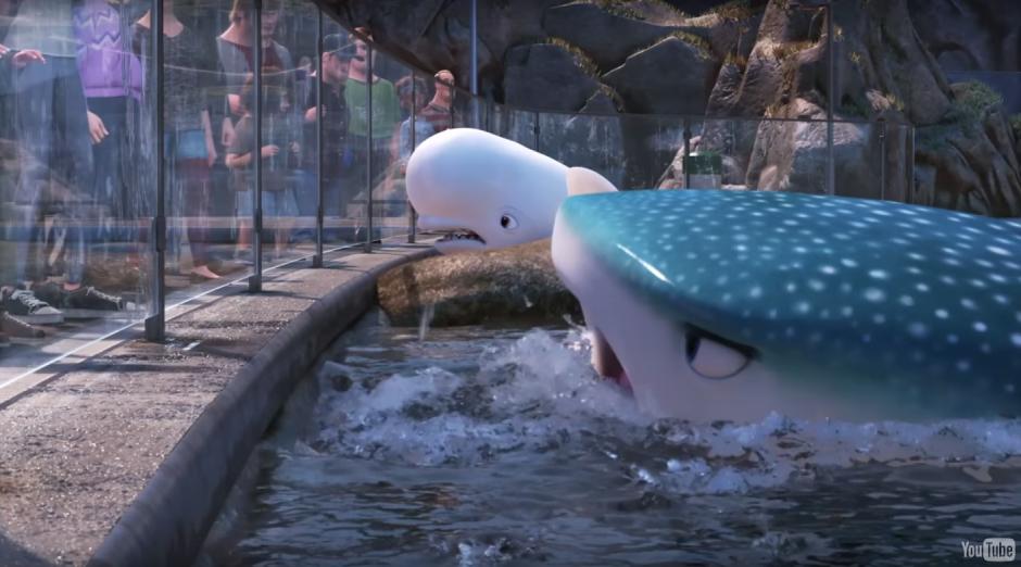 La película cuenta con nuevos personajes fuera del mar. (Imagen: Captura de YouTube)