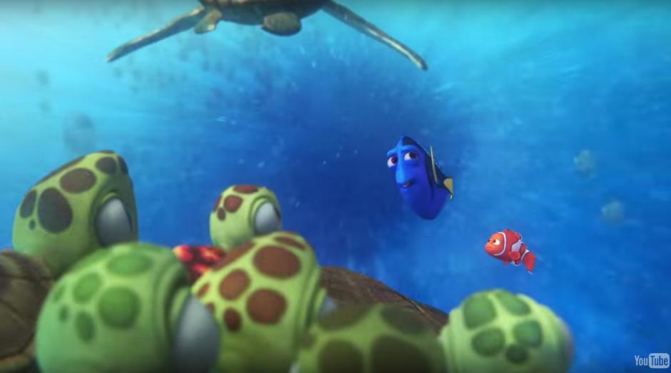 Nuevas aventuras vivirán los graciosos peces en el fondo del mar. (Imagen: Captura de YouTube)