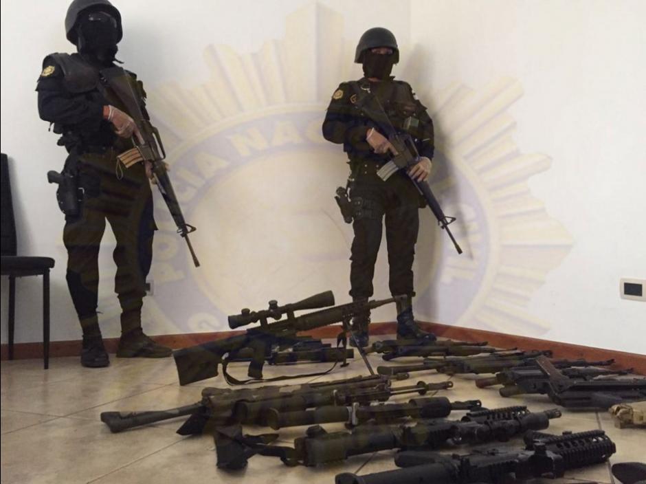 """Según las autoridades, la estructura liderada por """"El Fantasma"""" transportaba drogas a Estados Unidos. (Foto: cortesía PNC)"""