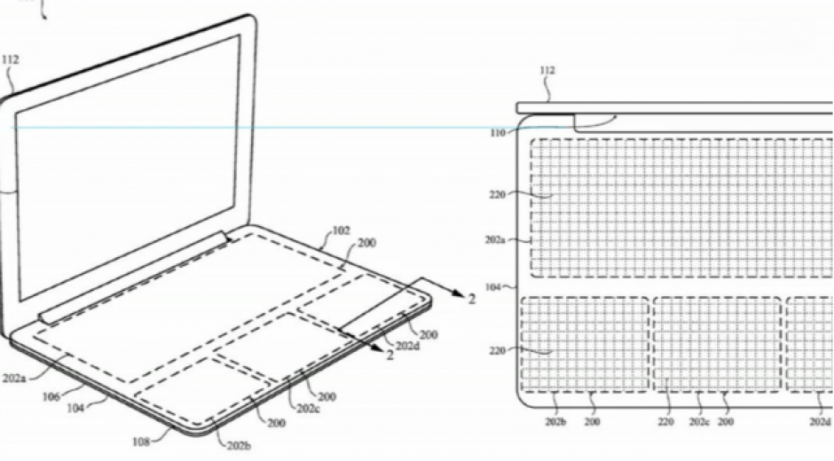 Si Apple logra eliminar el teclado tendrá una computadora con menos peso. (Foto: El País)