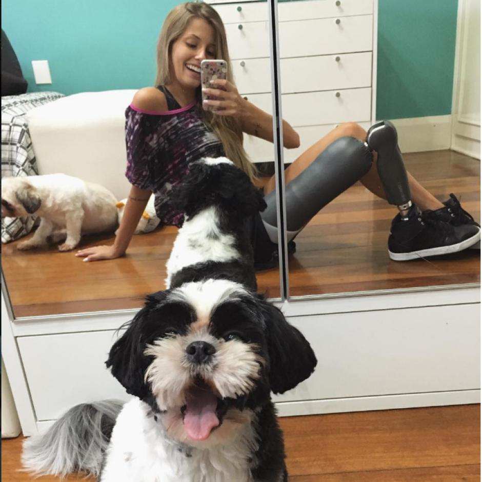 Antonini lleva una vida plena junto a su prótesis. (Foto: Instagram/@Paola_Antonini)