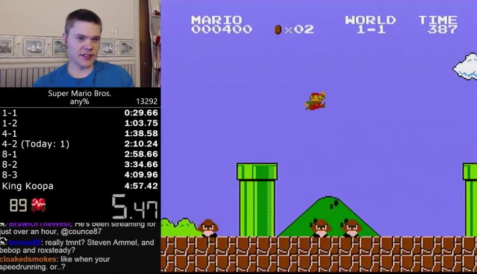 Darbian es un jugador reconocido por terminar los juegos en el menor tiempo posible. (Captura de pantalla: YouTube/Darbian)