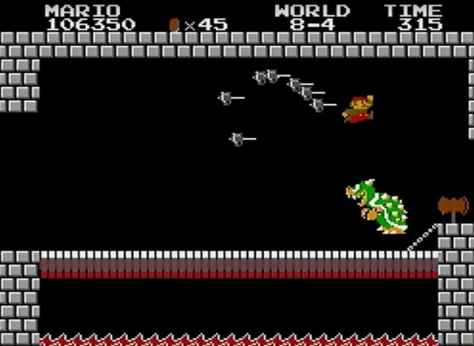 Super Mario Bros es un clásico de Nintendo. (Captura de pantalla: YouTube/Darbian)