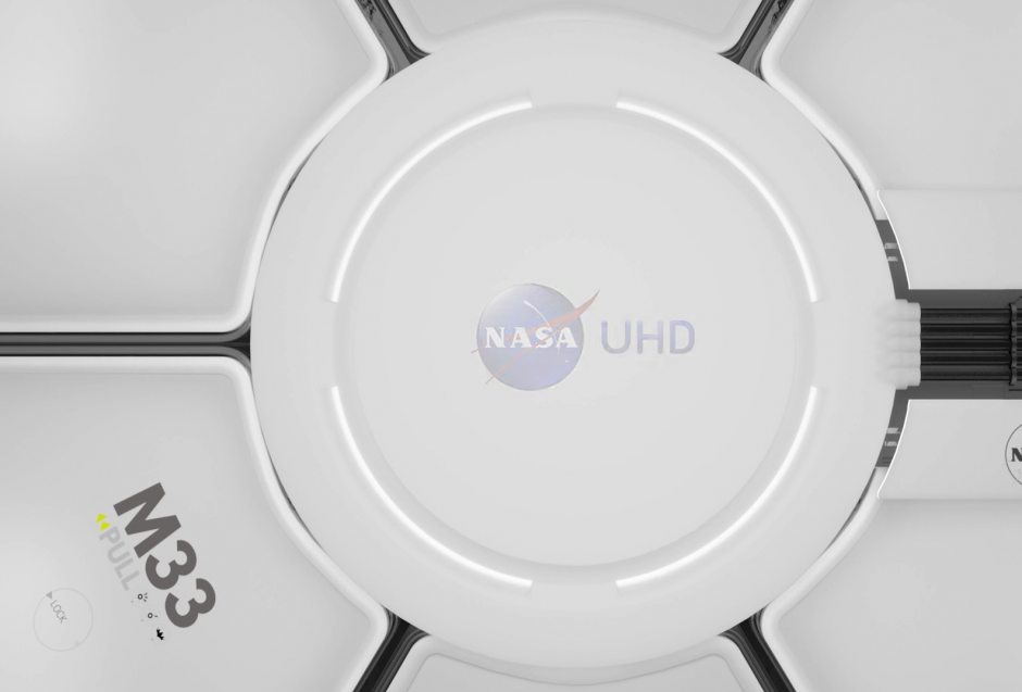 El video compartido por la NASA tiene resolución en 4k. (Captura de pantalla: NASA/YouTube)