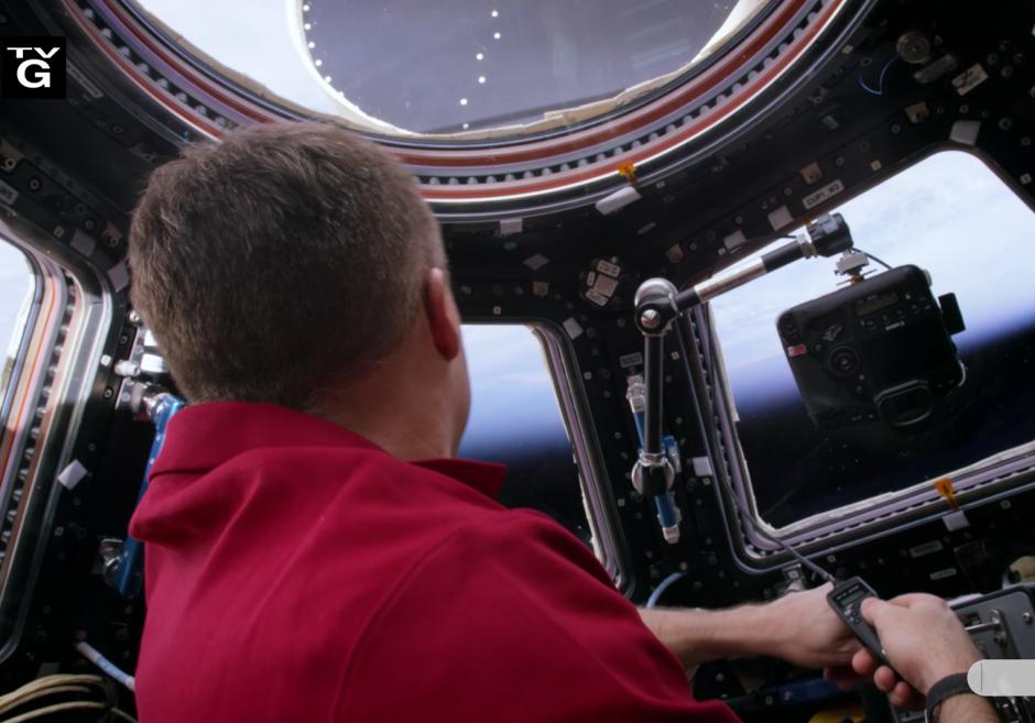Las imágenes fueron tomadas desde la Estación Espacial Internacional (Captura de pantalla: NASA/YouTube)