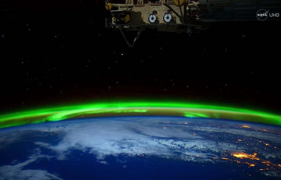 La NASA comparte imágenes de aurora boreal. (Captura de pantalla: NASA/YouTube)