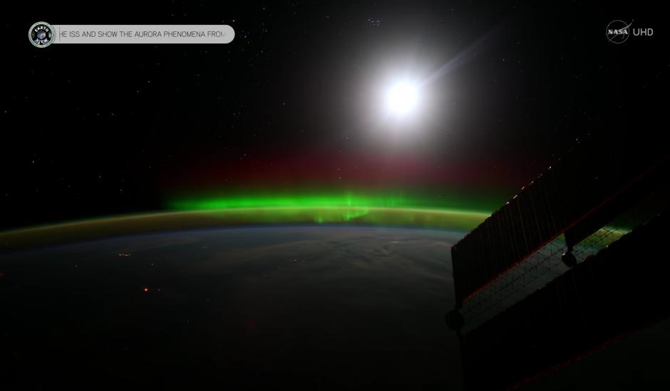 La magia de la naturaleza conquista a los seres humanos. (Captura de pantalla: NASA/YouTube)