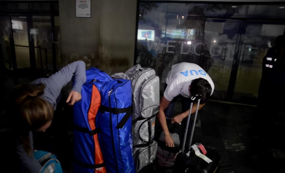 Con las maletas llenas de sueños, los atletas ya regresan a los entrenamientos este jueves. (Foto: Wilder López/Soy502)