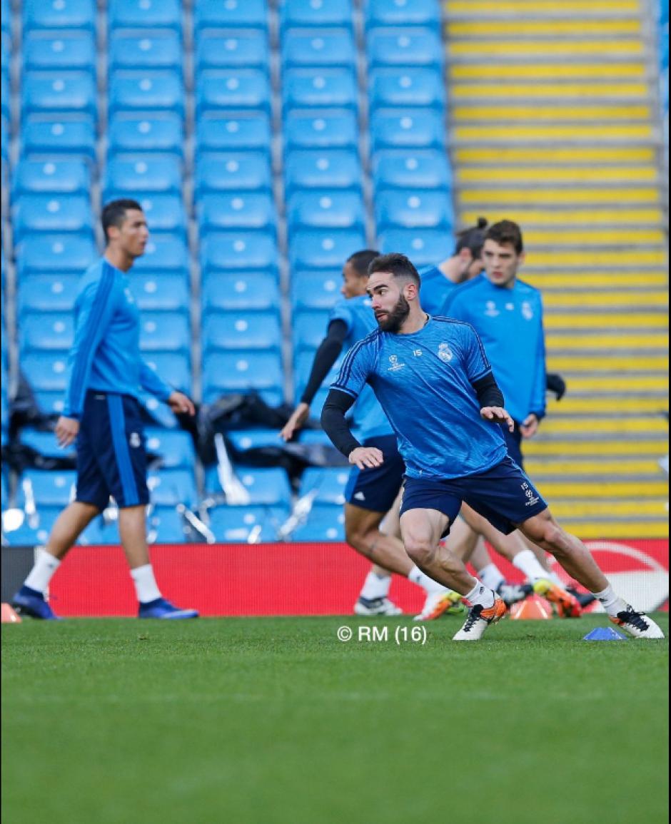 Zidane contará con CR7 para el encuentro. (Foto: Twitter/Real Madrid)