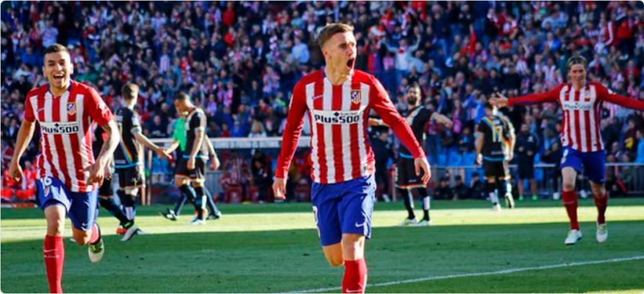El Atlético de Madrid aseguró el pase a la siguiente ronda. (Foto: Twitter/Atlético de Madrid)