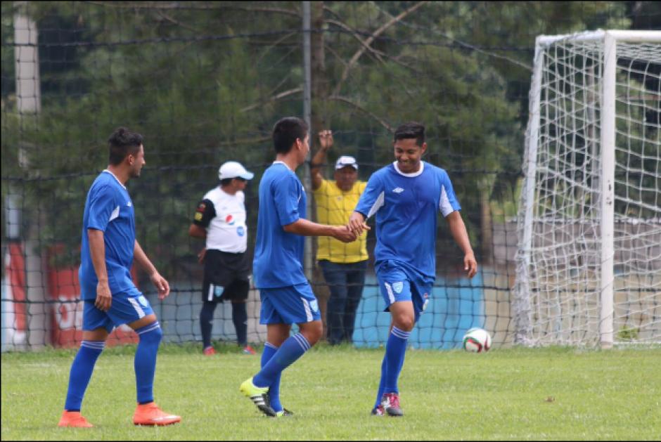 2 goles a 0 se impuso la Selección Mayor a la Sub-20. (Foto: Twitter/Fedefut)