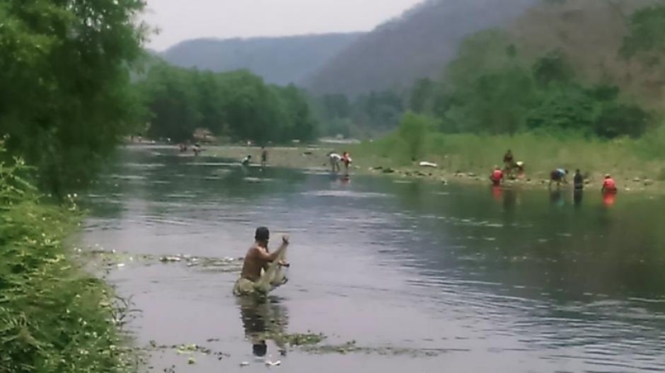 El río La Paz que se ubica entre Guatemala y El Salvador está siendo afectado. (Foto: Facebook/Las Pilas Orgullo Chapín)