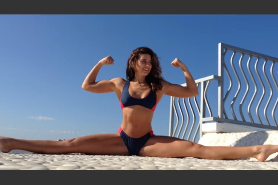 Bianca ha llamado la atención por su nivel de flexibilidad. (Foto: cdn.ecn.cl)