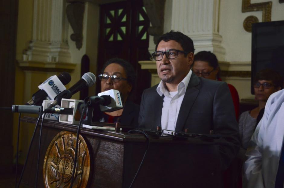 Los músicos llegarán este jueves al Congreso para pedirle apoyo económico a los diputados. (Foto: Camila Chicas/Soy502)