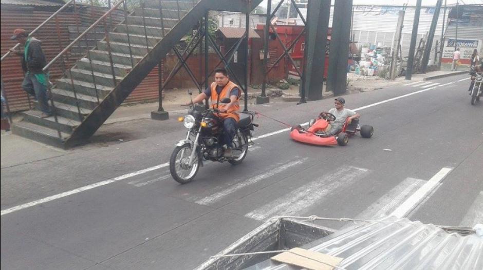 Estos vehículos no son para transitar en carretera. (Foto: Twitter/SacStarNews)