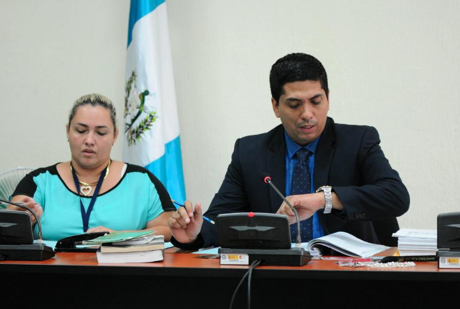 El titular del Juzgado Tercero de Instancia Penal programó para el próximo 13 de mayo la audiencia. (Foto: Alejandro Balán/Soy502)
