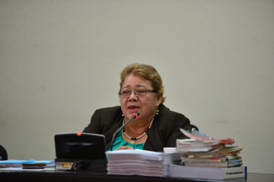 La exjueza Marta Sierra padece de problemas en la columna vertebral. (Foto: Archivo/Soy502)