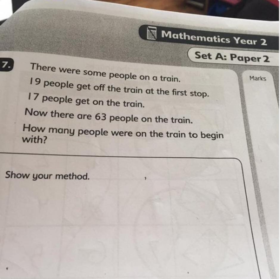 El confuso problema matemático para niños que desafía a los adultos ...