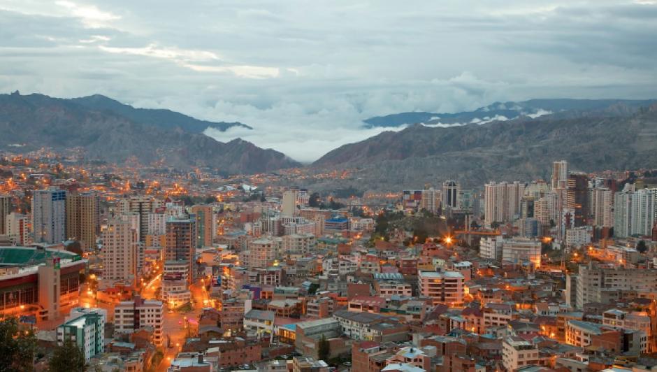 La Paz, Bolivia, se sitúa en el segundo lugar, según el informe de la OMS. (Foto: Expedia)