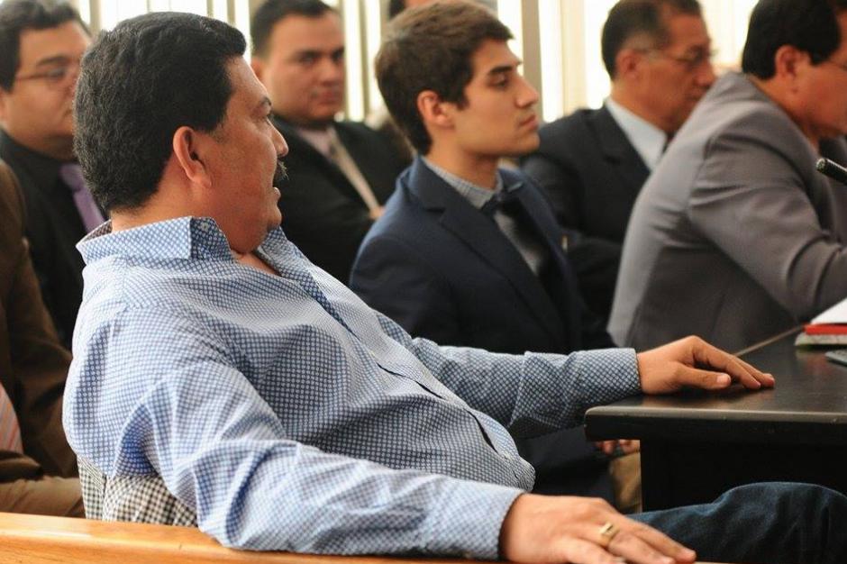 La audiencia se suspendió luego que el abogado Francisco García Gudiel señalara que no fueron debidamente notificados del acuerdo de colaboración eficaz. (Foto: Alejandro Balán/Soy502)
