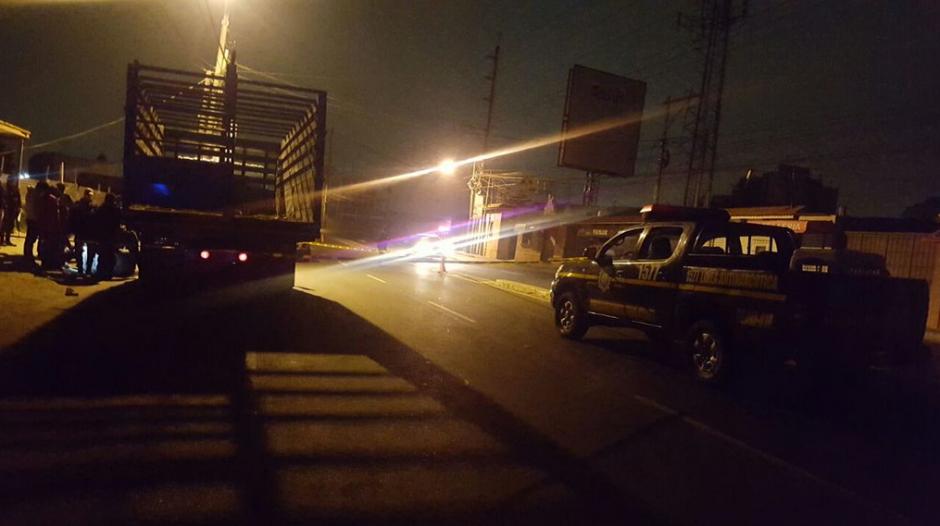 El operativo inició desde horas de la madrugada. (Foto: PNC)