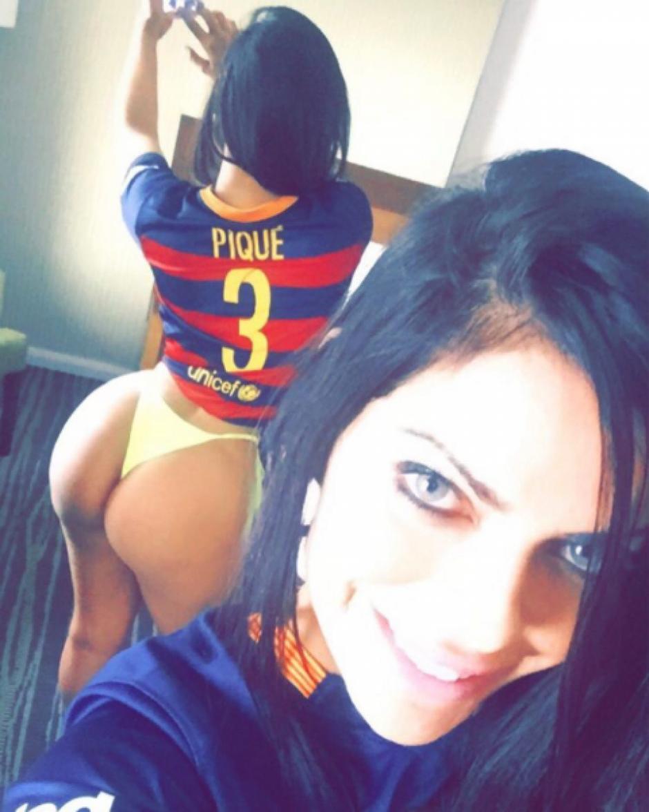 Además de a Messi, Miss Bumbum le ha dedicado publicaciones a Gerard Piqué. (Foto: suzycortezoficial/Instagram)