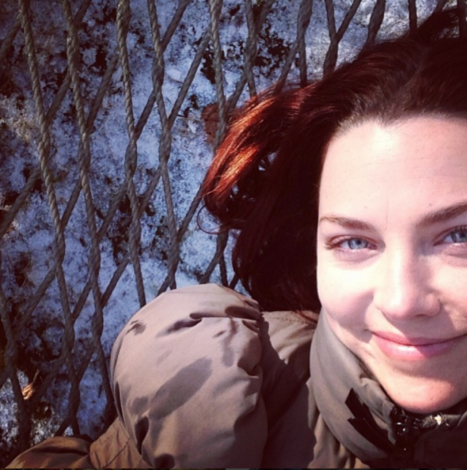 En 2014, Amy Lee sacó su primer disco como solista. (Foto: Amy Lee/Instagram)
