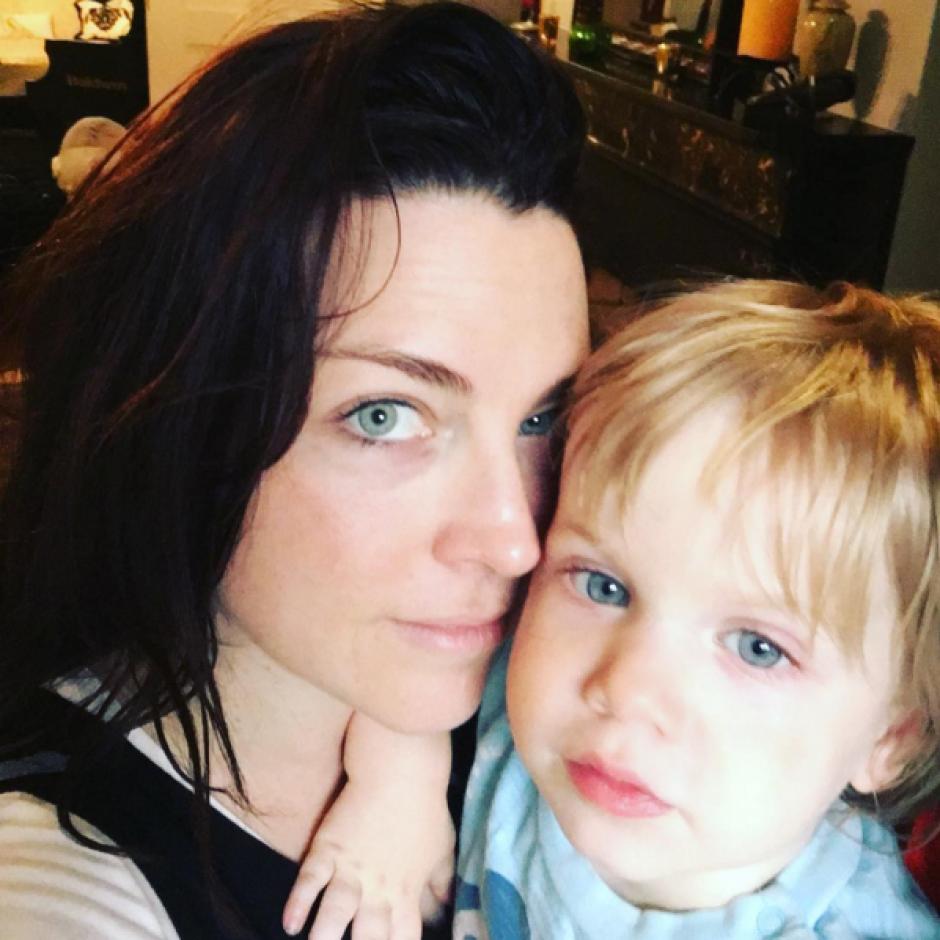Amy Lee se centró en su familia, aunque ha salido de gira con Evanescence en los últimos meses. (Foto: Amy Lee/Instagram)