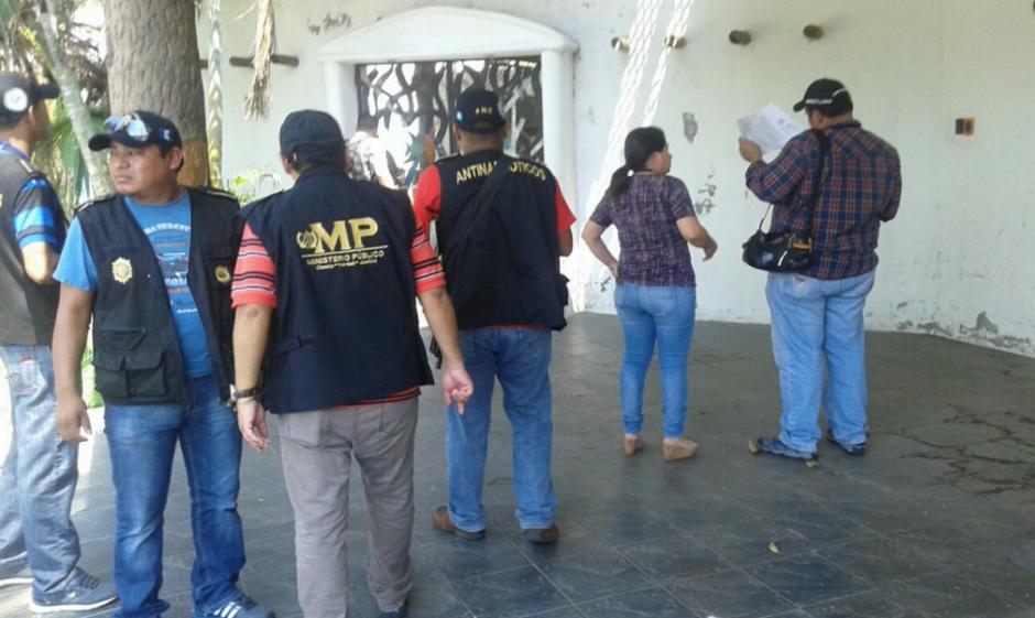 Fiscales del MP hicieron las gestiones para entregarla a la Senabed. (Foto: MP)