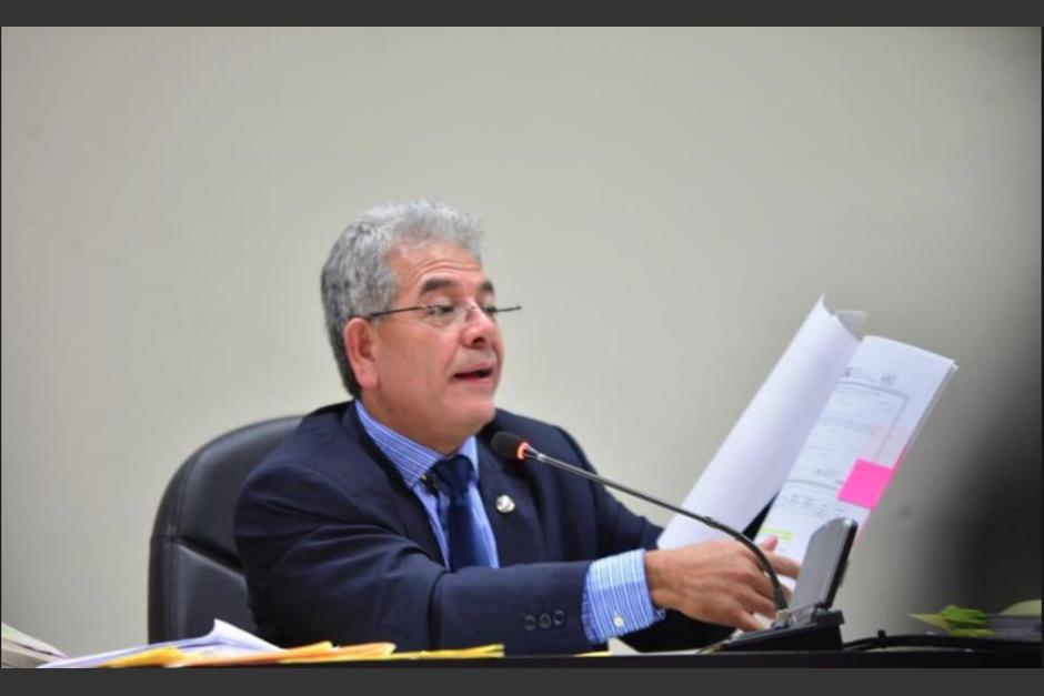 El juez Miguel Ángel Gálvez sigue varios casos de alto impacto. (Foto: Archivo/Soy502)