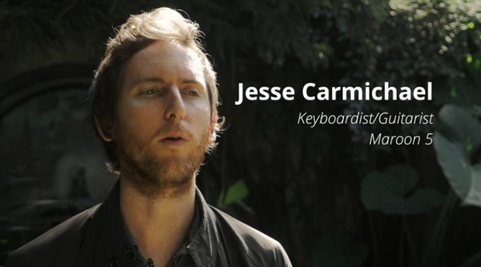 Jesse Carmichael se mostró sorprendido por lo que la deforestación puede provocar en todo el mundo. (Captura YouTube)
