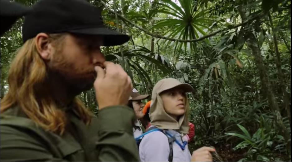 El recorrido tuvo lugar en una zona protegida. (Captura YouTube)