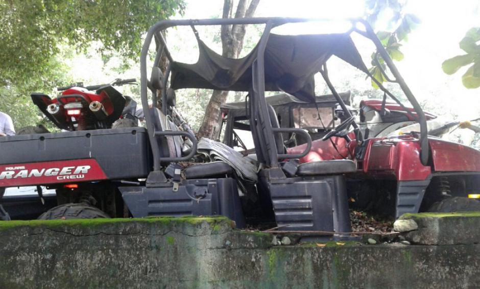En una vivienda registrada a nombre de la hija de Byron Lima se localizaron dos vehículos. (Foto: MP)