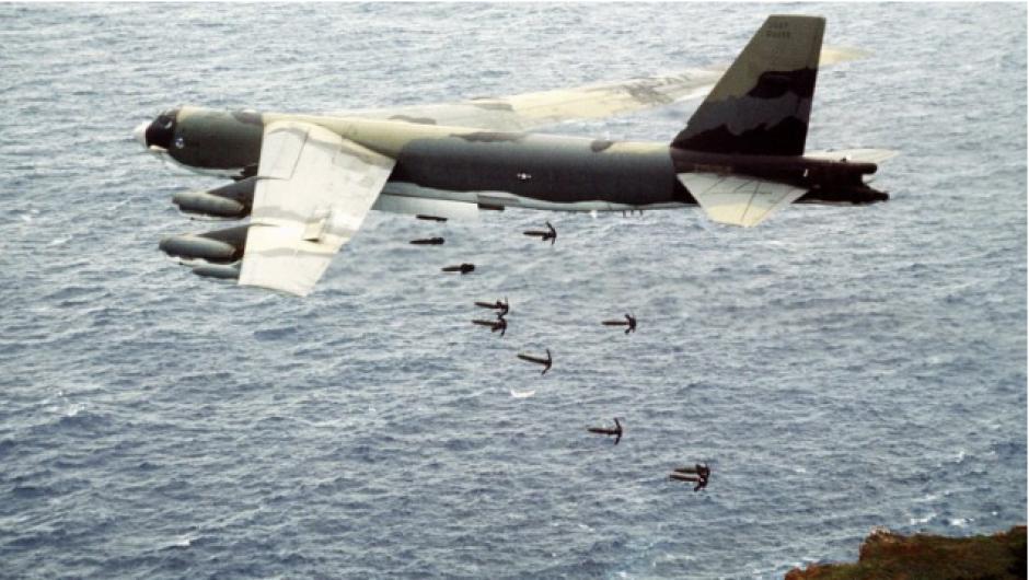 El B-52 sigue siendo un símbolo de la Guerra Fría. (Foto: Infobae)