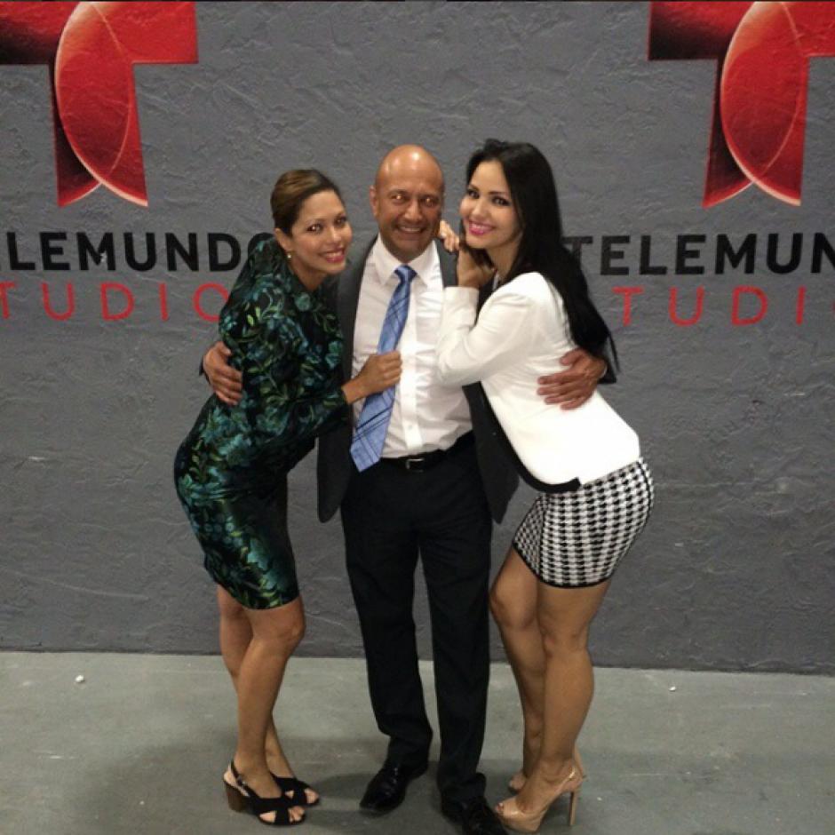 La guatemalteca forma parte del talento de Telemundo en Miami. (Foto: Lorena Aros)