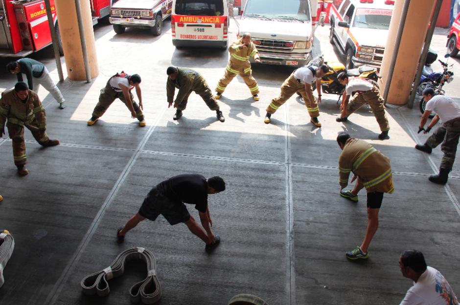El objetivo principal es mejorar la condición física de los socorristas. (Foto: Jorge Sente/Nuestro Diario)