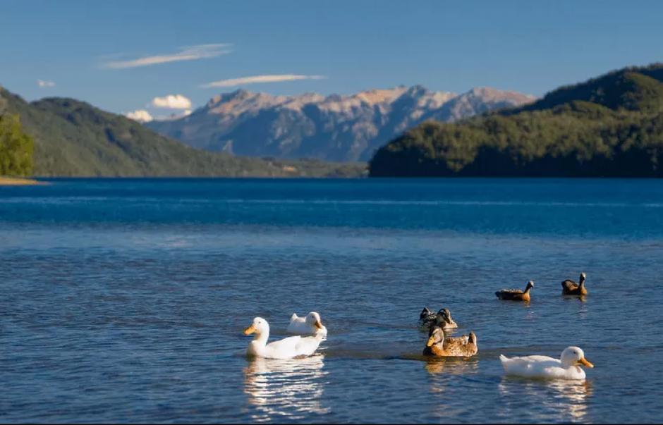 Otro voluntariado se lleva a cabo en Lago Hermoso, Argentina, y podrás observar paisajes como este todos los días. (Foto: Facebook, Winkamawida)
