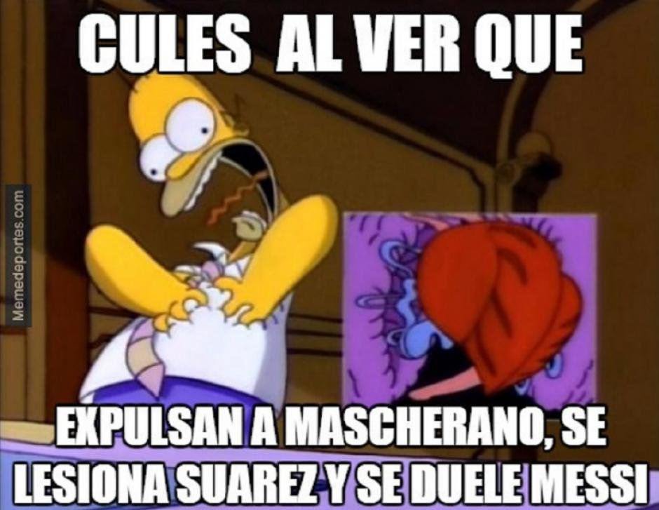 No podía falta Homero Simpson en un meme.