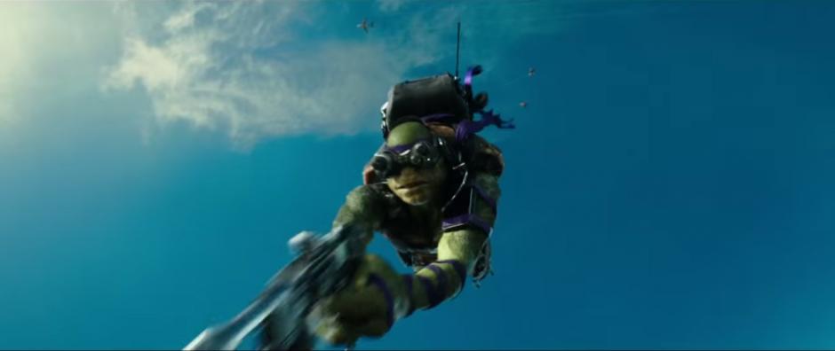 Donatello pondrá a prueba sus maravillosos inventos. (Imagen: Captura de YouTube)