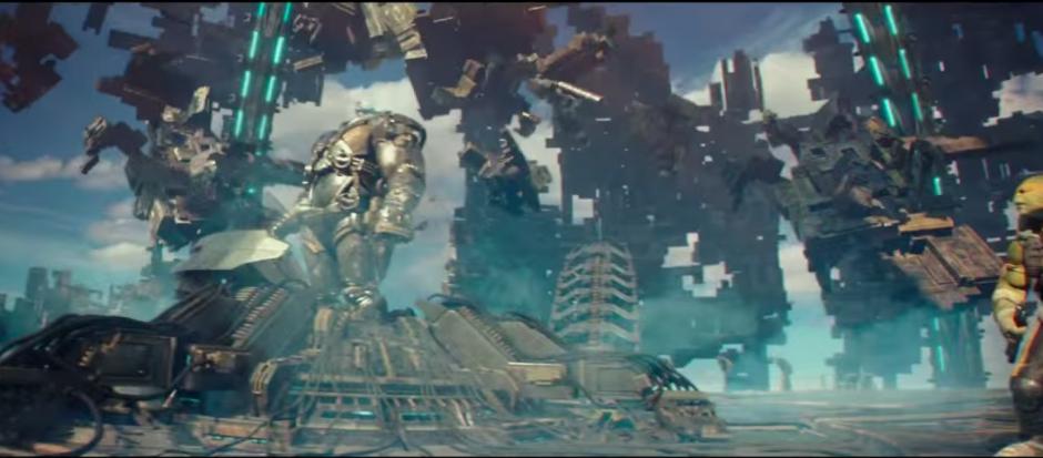Esta nueva entrega cuenta con la aparición de un gigantesco Krang. (Imagen: Captura de YouTube)
