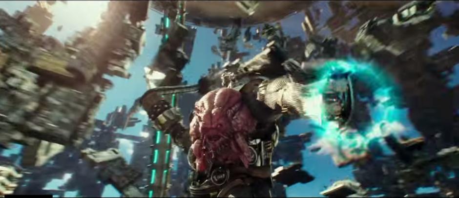 Krang buscará liderar la humanidad en esta película. (Imagen: Captura de YouTube)
