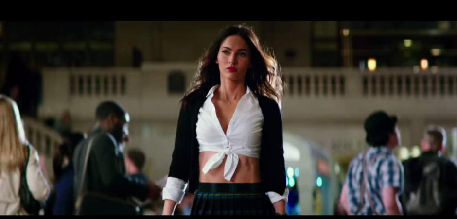 Megan Fox interpreta de nuevo a la sexy reportera April O´Neil. (Imagen: Captura de YouTube)