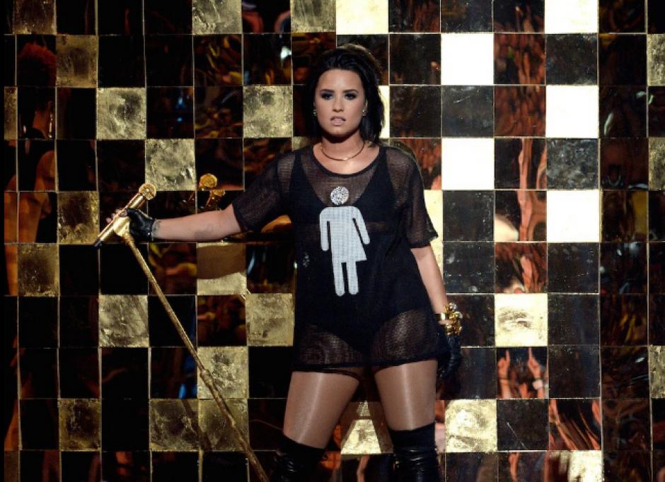 Demi Lovato dio un adelanto junto a Nick Jonas del Future Now Tour. (Foto: Twitter/@BBMAs)