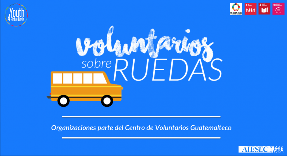 """""""Voluntariado sobre Ruedas"""" está diseñado para jóvenes que no tengan muchos recursos para viajar pero que tengan deseos de ayudar. (Foto: AIESEC)"""