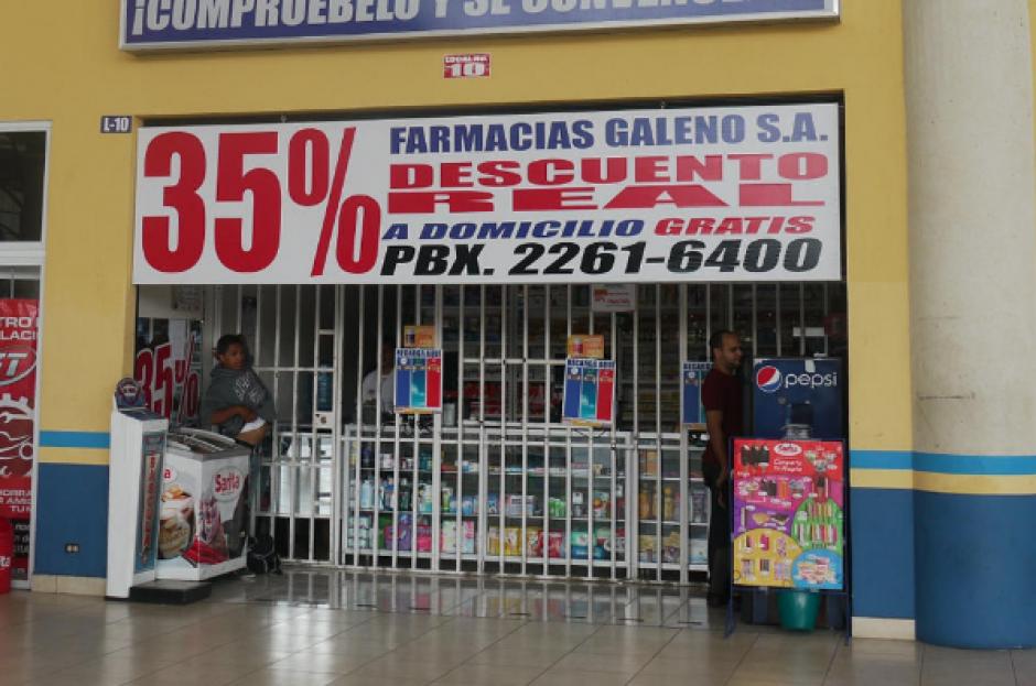 Farmacias Galeno fue intervenida por la evasión de cerca de 35 millones de quetzales. (Foto: Archivo/Soy502)