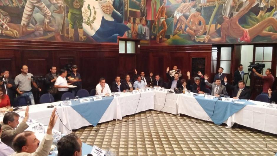 Los jefes de bloque del Congreso acordaron la fecha para elegir a Magistrado. (Foto: José Miguel Castañeda/Soy502)