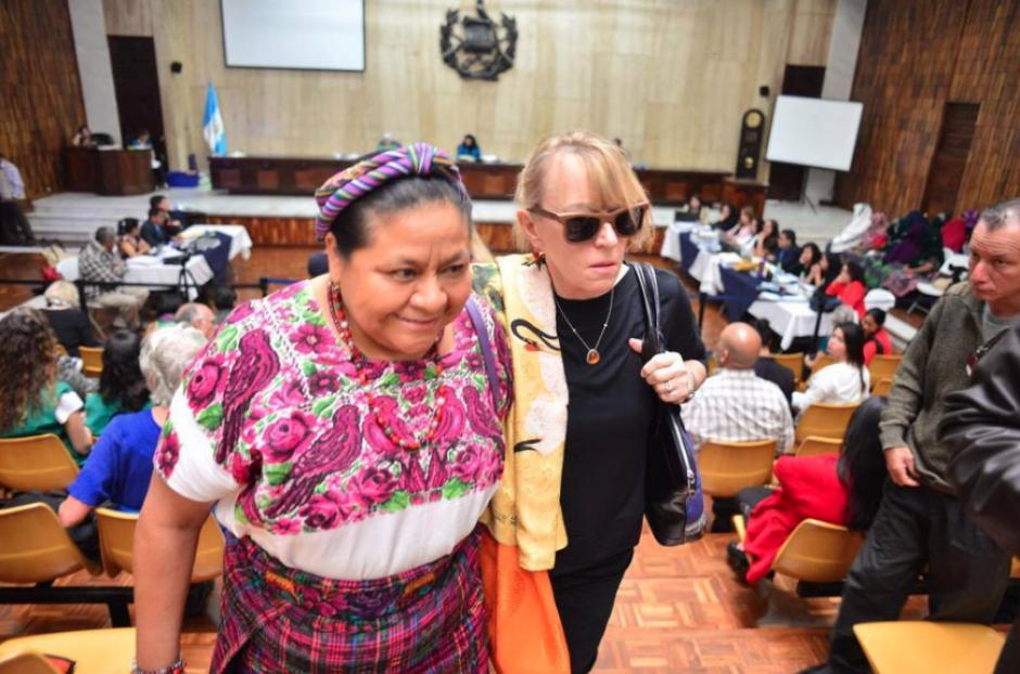 La activista de Derechos Humanos ha participado de cerca en los casos de que se juzgan en el país. (Foto: Archivo/Soy502)